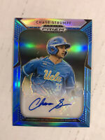 CHASE STRUMPF 2019 Prizm DP CAROLINA BLUE PRIZM SP RC AUTO 17/30! #45! HUGE SALE