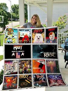 Riot V Quilt Blanket Gift Idea For Fan