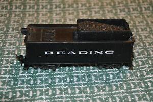 HO TRAIN AHM / RIVAROSSI 0-8-0 STEAM ENGINE TENDER ONLY READING R.R.