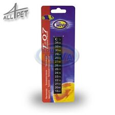 Aqua Nova Aquarium Thermometer Stick on Adhesive Strip Digital