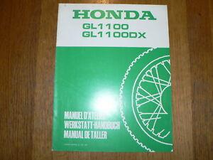 HONDA GL1100,DX WERKSTATT-HANDBUCH MANUAL D'ATELIER MOTORCYCLE