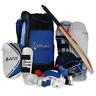 Splay Club Cricket Kit complete set Bat ball pads gloves helmet guard pad box