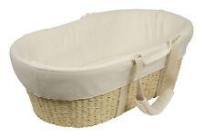 Bebe Care Moses Basket-  Cream
