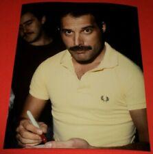 Freddie Mercury / Queen / Candid 8 x 10 Color Photo