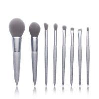 NEW Jessup Brush Set Foundation Face Eyeshadow Contour Eyebrow Hair Brush Kit