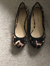 DOROTHY PERKINS LADIES LEOPARD PRINT SHOES Size 5 NEW