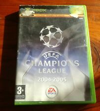 Uefa Champions League 2004/2005 (Microsoft Xbox, 2005, DVD-box)