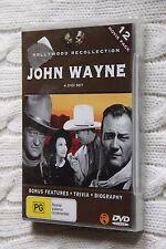 John Wayne: Hollywood Recollection (DVD, 4 disc set, 12 movies), New, free post
