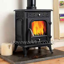 Coseyfire Pentridge Multifuel Woodburning Stove Stoves 7kw Log Burner Cast Iron