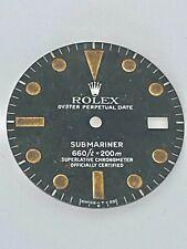 ROLEX VINTAGE GENUINE SUBMARINER 1680 BEYELER GENEVE BLACK MATTE DIAL