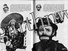 CLOWNS 1954 PICTORIAL EMMETT KELLY LOU JACOBS FELIX ADLER OTTO GRIEBLING
