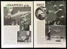 Fishing Light Attractor experiments 1940 article Vincent Palmer Beebe Nohl Craig