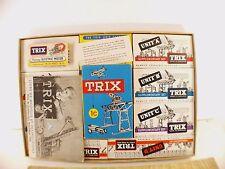 Trix  Moto Trix n° 347 Presentation set boite rare jamais joué en boite