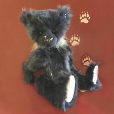 HUGGLESWORTH - Plush Charlie Bear by Bear Artist Heather Lyell - New with Tags