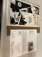 Superman - Original 1970s Autographed Signed Joe Shuster Print JSA