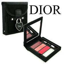 100% Auténtico Ltd Edt DIOR vacaciones Colección lápiz labial brillo paleta Encanto Jewel &