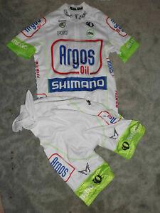 Original Pearl Izumi Team 1t4i Argos Shimano Climber Jersey & bib short