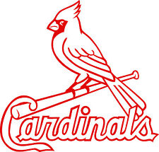 St Louis Cardinals Corn Hole (Bag Toss) Vinyl Decals set of 2