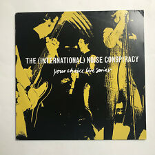 THE INTERNATIONAL NOISE CONSPIRACY - YOUR CHOICE LIVE * LP VINYL * FREE P&P UK *