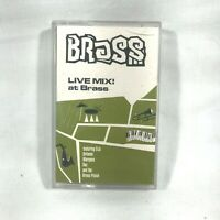 Live Mix at BRASS DJs Orlando Marques Daz & The Brass Posse 1993 Cassette Tape