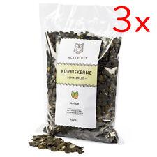 (8,30€/1Kg) Kürbiskerne natur / schalenlos, 3kg - aus dem steirischen Ölkürbis