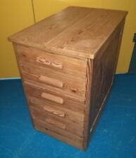 Vintage ~Old ~Shop Drawers ~Chest of 5 Drawers ~Shop Fitting ~Haberdashery~ VGC