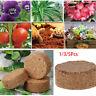 5X Coco Coir Brick Fiber Pellet Nutrient Soil Plant Seed Starter Compressed Base