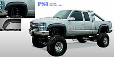 BLACK TEXTURED Extension Fender Flares 1988-1998 GMC Chevrolet C1500 K1500
