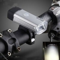 USB Rechargeable LED Bicycle Head Front Light Bike Bicycle Headlight