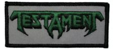 Testament Logo Embroidered Patch T007P Slayer Megadeth Exodus Overkill