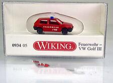 "Wiking 093405 Volkswagen VW Golf III "" Feuerwehr "" -  Scale 1/160 N"