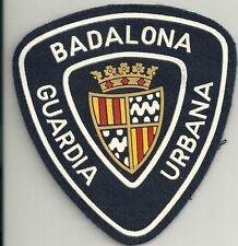SPANIEN Police Patch POLICIA  BADALONA  GUARDIA URBANA  Polizei Abzeichen Spain