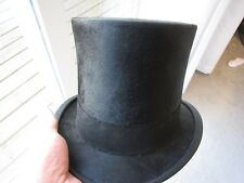 BEAUTIFUL BEAVER TOP HAT , KNOX ,NEW YORK , WITH CASE