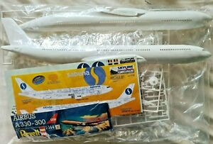 Revell 04205 1/144 Airbus A330-300 LTU Model Kit - Bagged with Daco Sabena decal