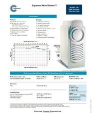 Capstone Microturbine Micro Turbine Generator, 330, C30, 30KW, Natural Gas