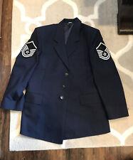 Vintage DSCP Airforce Pilot Jacket Blue 42S