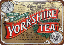 Taylors of Harrogate Yorkshire Tea Reproduction Metal Sign 8 x 12