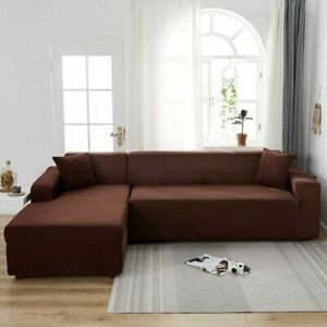 Stretch Sofa Cover for Living Room Elastic Slipcovers Couch Cover Armchair Cover