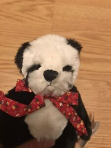 """Annette Funicello Collectible Teddy Bear Co. """"Cookies & Cream""""  Limited Edition"""