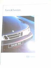 Saab Form & Function range brochure 1995