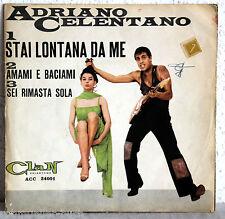 """7"""" vinile Adriano Celentano-Stal lontana poiché me"""