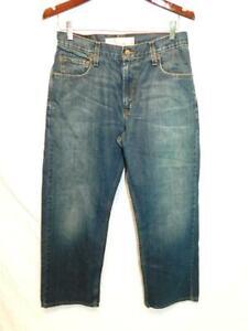 Levi's 30 x 30 569 Loose Straight Leg Blue Jeans Cotton Denim Levi Strauss Mens