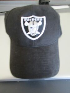 """Las Vegas"" RAIDERS NFL Black Reebok Authentic Player Sideline Hat Retails @ $20"