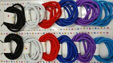 60 pcs  Hair Ties Pony Tail Holders Different Colors .