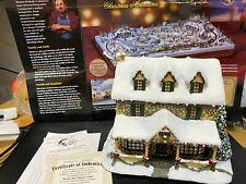 "Hawthorne Village-Thomas Kinkade ""From the Heart Gifts"" Lighted.judb"