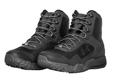 Under Armour UA Men's Black VALSETZ RTS Military Tactical Boots Size 14 Medium