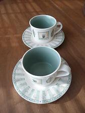 3~Pfaltzgraff Naturewood cup & Saucer sets~EUC