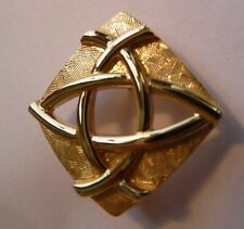 Ola Gorie Alba Broche 9 ct Oro Amarillo Alba es Gálico para Escocia