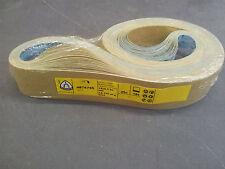 """Klingspor LS312JF Abrasive Belts 50x1525mm (2""""x60"""") Grit 180 (Pack of 25)"""