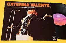 CATERINA VALENTE LP LIVE CONCERT ALBUM ORIG UK 1976 EX TOP COLLECTORS !